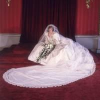 El retrato oficial de Diana después de la boda.