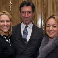 Tanya Rose, Tom Hill and Kate Earle