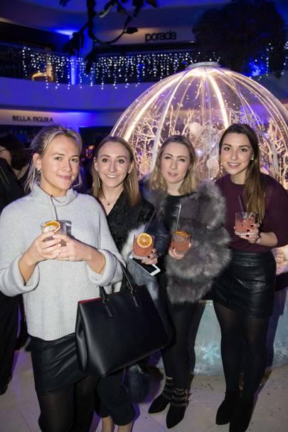 Charlotte Roden, Hannah Martin, Anna Batchelor and Emily Spencer
