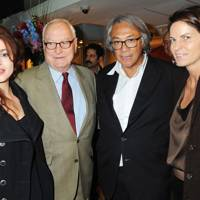Helena Bonham Carter, David Ivory, Sir David Tang and Lady Tang, 2009