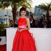 Audrey Tautou wearing Prada in 2013