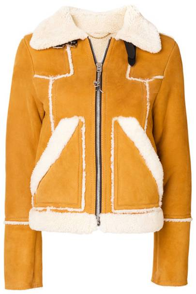 Coach shearling jacket
