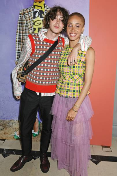 Sonny Hall and Adwoa Aboah