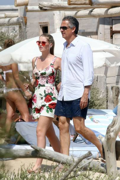 Lady Kitty Spencer is engaged to her fashion tycoon