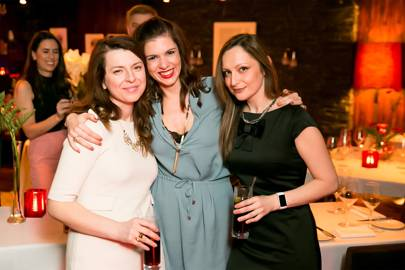Eleni Mesala, Thea Manda and Melinda Gkisa