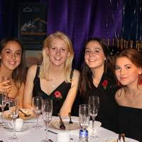 Seren Phillips, Louisa Hunter, Helen Norman and Josie Clacher
