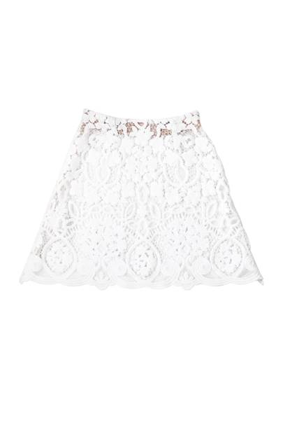 Macrame silk skirt, POA, by Moncler