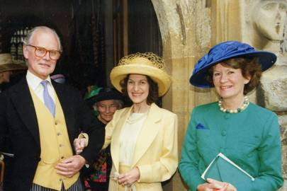 John de Uphaugh, Mrs Christopher Sporborg and Mrs Ian MacGillivray