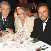 Sir Ian McKellen, Vanessa Redgrave and Franco Nero