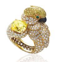 Les Oiseaux Libérés ring by Cartier