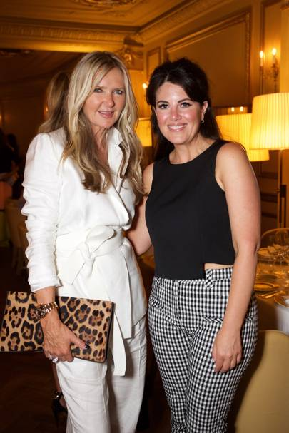 Amanda Wakeley and Monica Lewinsky