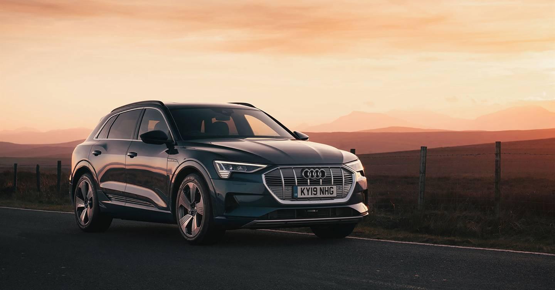 The Audi e-tron: Stylish and sporty
