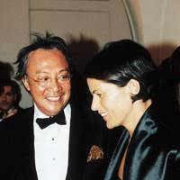 David Tang and Lucy Wastnage
