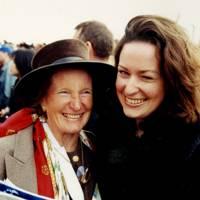 Mrs William Spiegelberg and Diana Spiegelberg