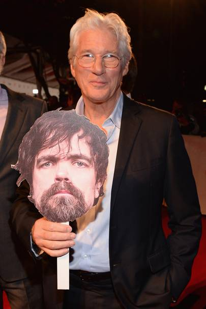 Peter Dinklage and Richard Gere
