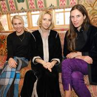 Tatum Getty, Sabine Getty, Tatiana Casiraghi