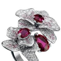 Ruby and diamond ring, POA, Cartier