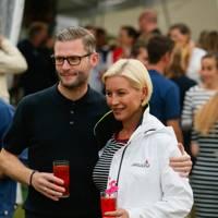 Eddie Boxshall and Denise Van Outen