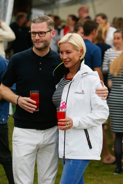 Eddie Boxshall and Denise Van Outen