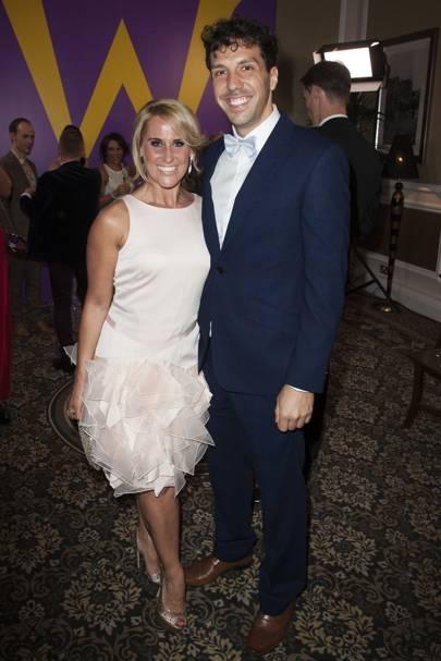 Jane McMurtrie and Alex Gaumond