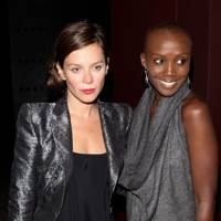 Anna Friel and Tiffany Pearsons