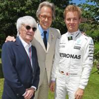 Bernie Ecclestone, Earl of March and Kinrara and Nico Rosberg