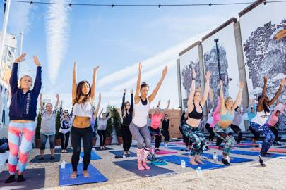 Planet Manna's Lyric Rooftop Yoga