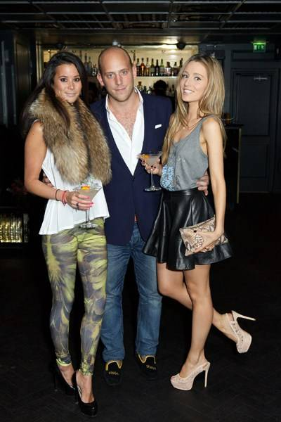 Stephanie Smart, Carlo Carello and Alexandra Bayley