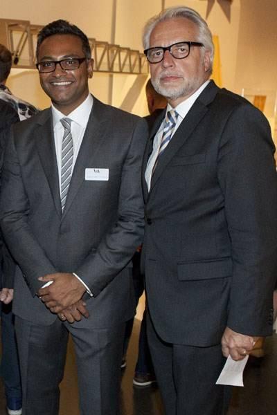 Abraham Thomas and Martin Roth