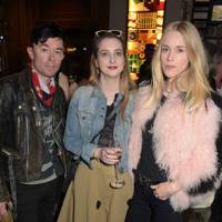 Robbie Furze, Daisy de Villeneuve and Mary Charteris
