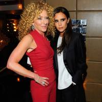 Kelly Hoppen and Victoria Beckham