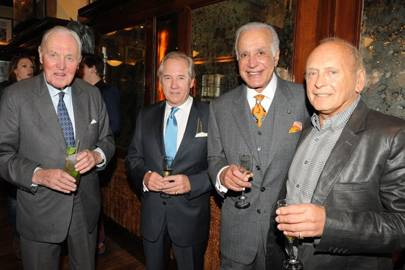 Lord Patrick Beresford, Nick Colquhoun-Denvers, Richard Caleel and Brian Stein