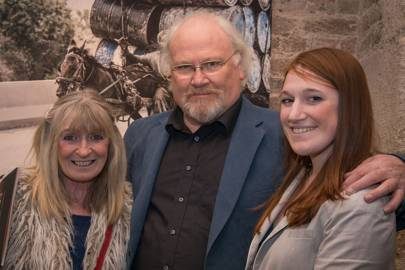 Marion Baker, Colin Baker and Lally Baker