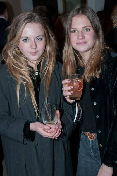 Laura Little and Millie Driver