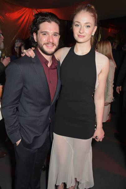 Kit Harrington and Sophie Turner