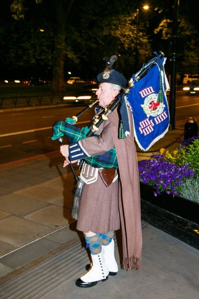 Pipe Major Jim McLucas