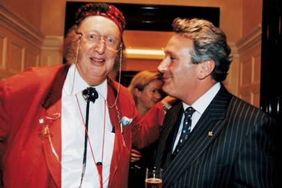 John McCririck and Anthony Lee
