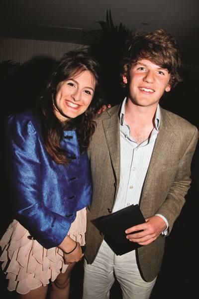 Cosima Lowe and David Leigh