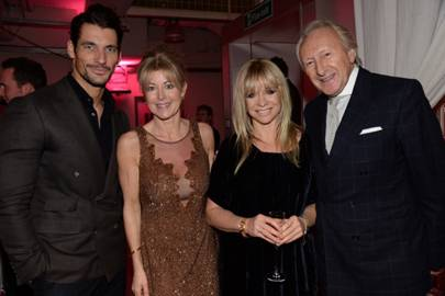David Gandy, Emma Willis, Jo Wood and Harold Tillman