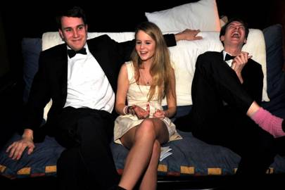 Robert Knight Bruce, Issy Weatherby and Jack Probert