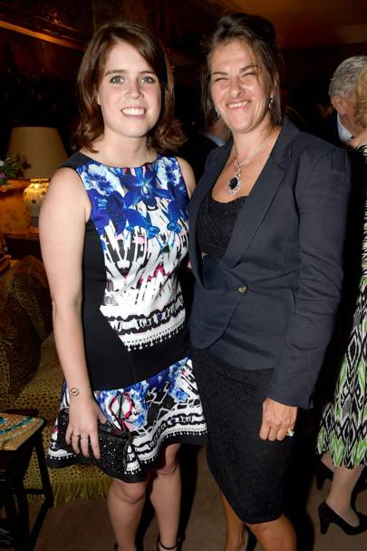 Princess Eugenie and Tracey Emin