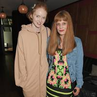 Lily Cole and Charlotte Colbert