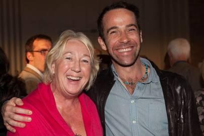 Lady Sainsbury and Jonjo O'Neill