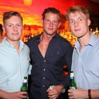 Tim Hales, Tom Archer and Ollie Easson