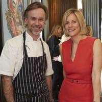 Marcus Wareing and Bec Astley Clarke