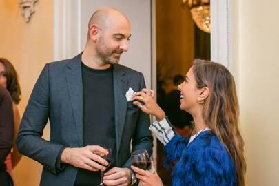 Simon Jablon and Alona Shelemy
