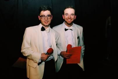 Angus Richardson and Dougie Critchley