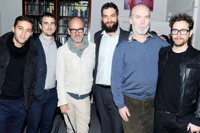 Rui Amaral, Gareth Long, Michael Stipe, Sandro Kopp, Douglas Coupland and Thomas Dozol