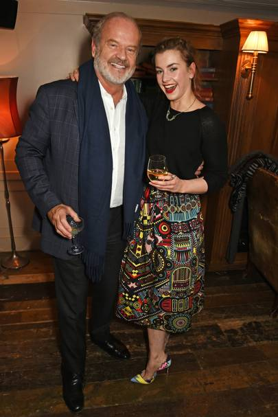 Kelsey Grammer and Stefanie Martini