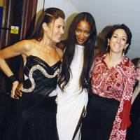 Naomi Campbell, Ghislaine Maxwell and Mrs Tom Saltzman-Walker